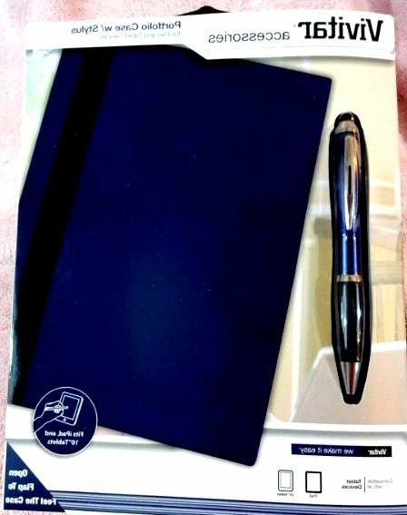Vivitar Accessories Portfolio Case with Stylus for iPad and