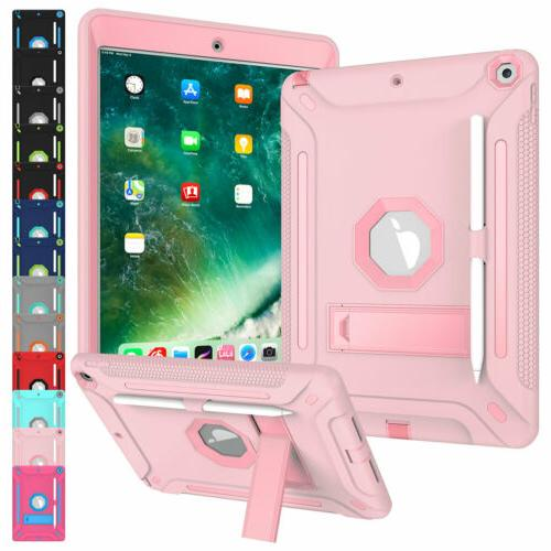 For iPad  10.2'' Hybrid Heavy Duty Tablet Stand Case Cover