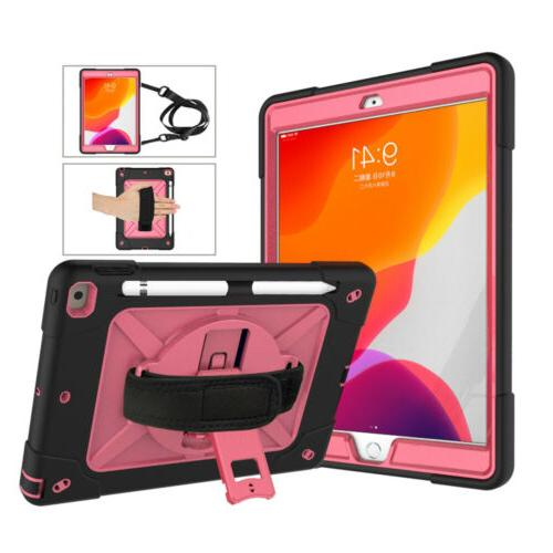 For iPad 2019 Duty Cover Stand+Shoulder