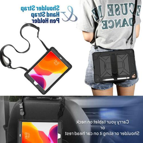 For Apple iPad 2019 Duty Cover Strap