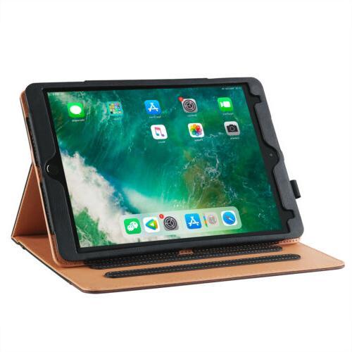 For Apple iPad 10.2 7th Leather Sleep Wake