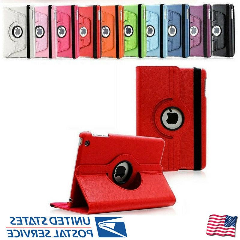 For Apple iPad 360 Magnetic Leather Case