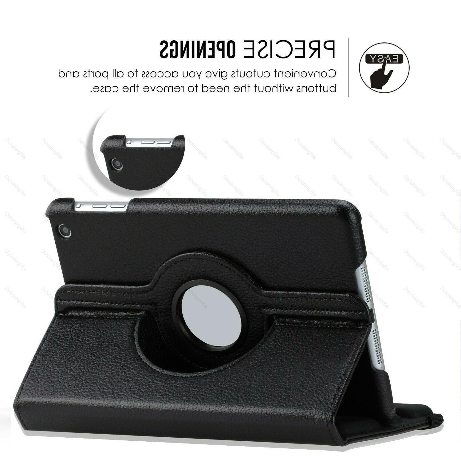 For iPad 2 / / 4th w/ Display 360 Rotating Case Cover Stand