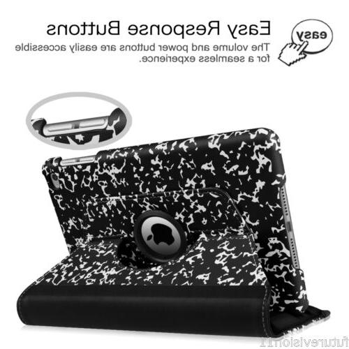 For Apple 2/3/4 iPad 6th Multi Leather Case Stand