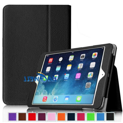 For iPad 2/iPad 3/iPad 4 9.7 Inch Smart Leather Folio Case Cover