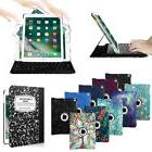 "For Apple iPad 6th Gen 9.7"" 2018 Keyboard Swivel Case Cover"