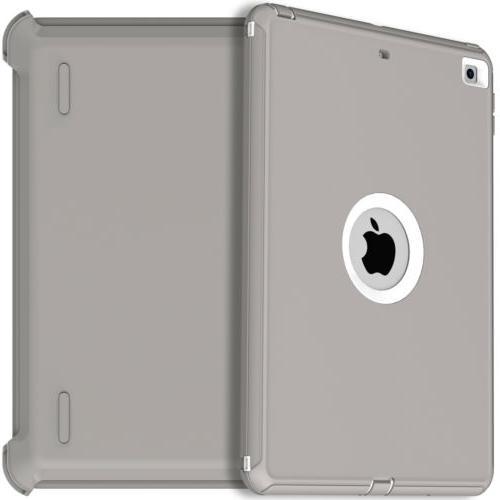 For iPad Gen 10.2 Case Cover w/Pencil Defender