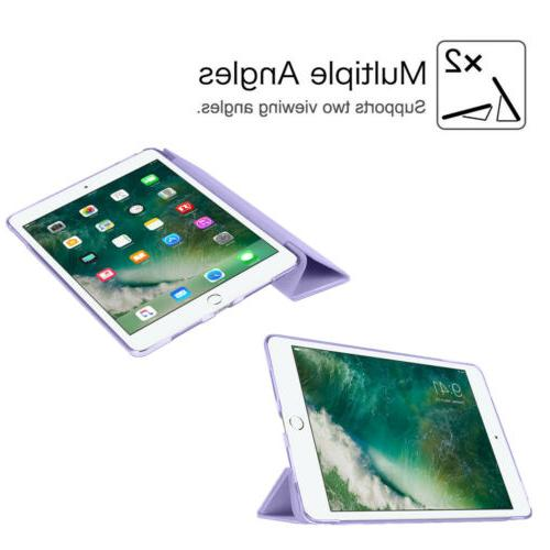 For iPad 6th 5th Gen Air 2 3 Translucent Slim Shell Case Cover