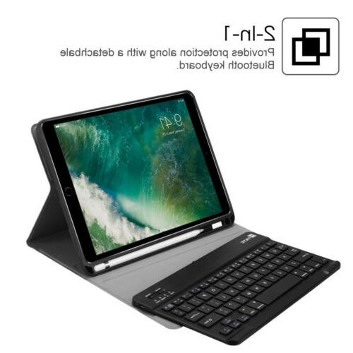 For Apple iPad 6th 1st Case Holder+Wireless