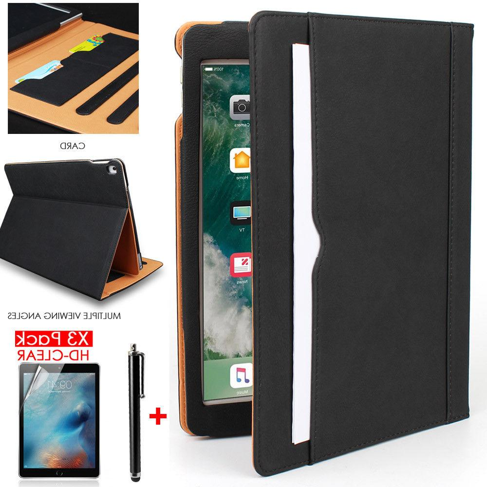 Apple iPad 9.7 6th Generation 2018 Soft Leather Smart Cover