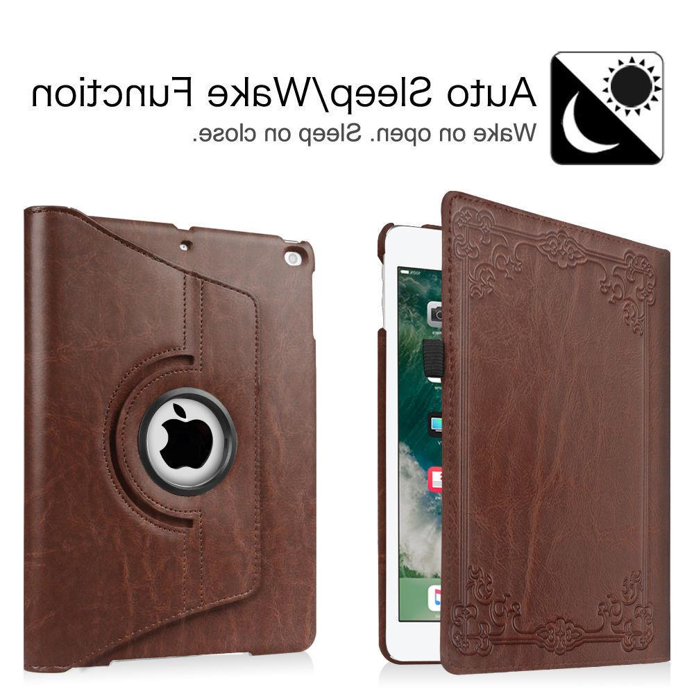 For Apple 9.7 inch 360 Rotating Case Stand Cover