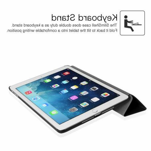 For iPad 2 A1566/A1567 Smart Case Cover Sleep/Wake