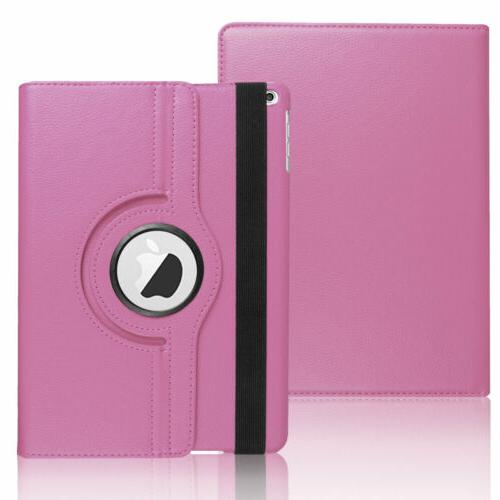 For iPad Leather Smart Stand Cover