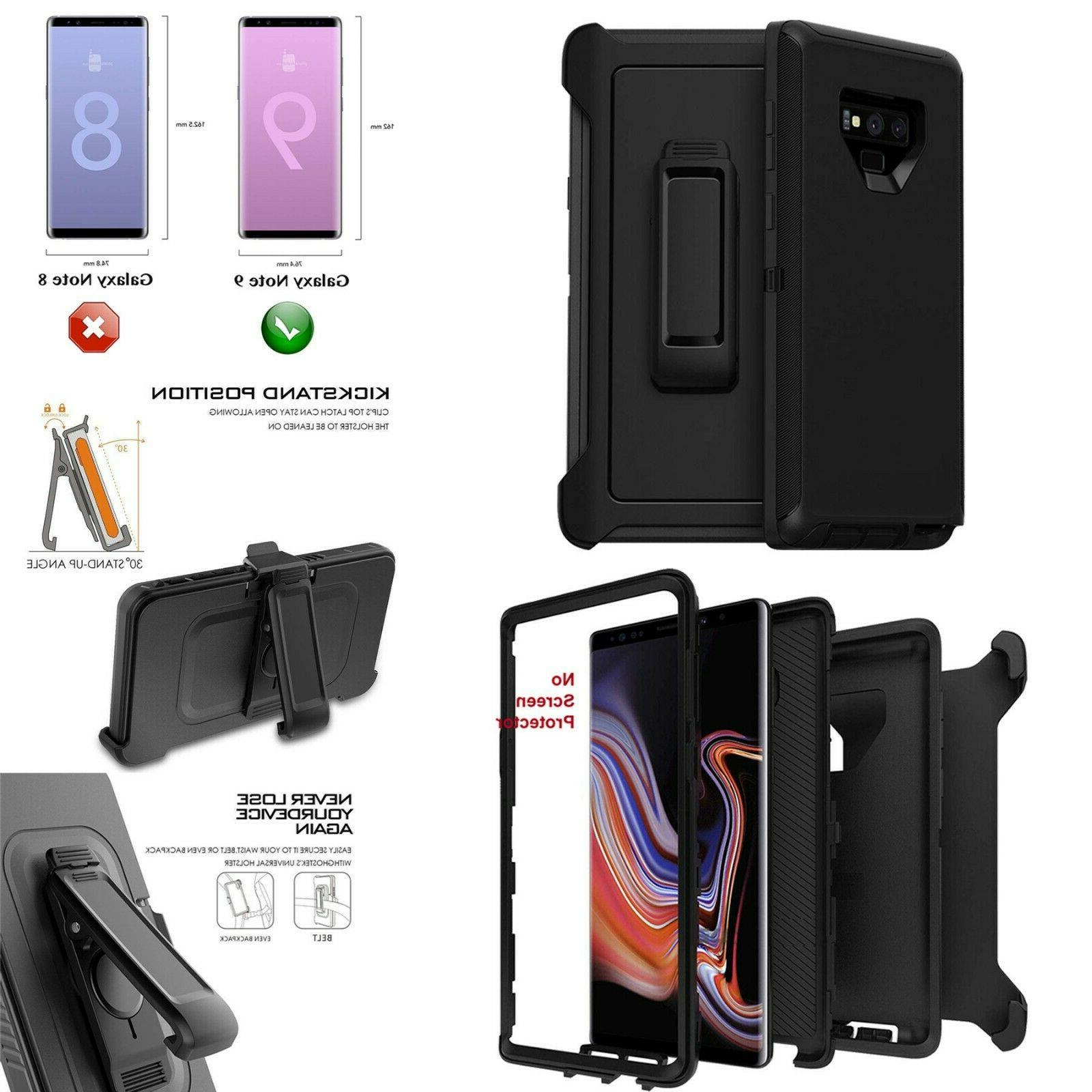 Apple iPad Mini 4 Defender Case Cover Belt Holster Fits Otte