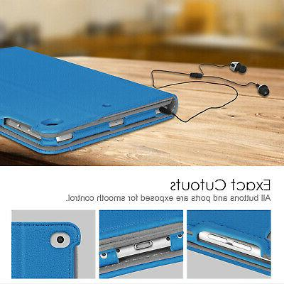 For iPad Folio Case Cover Stand with