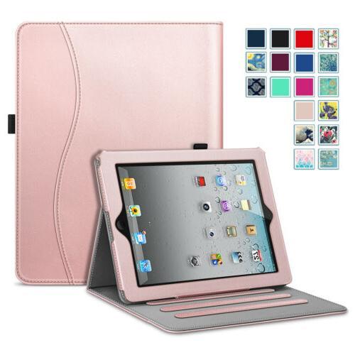 apple ipad multi angles folio case