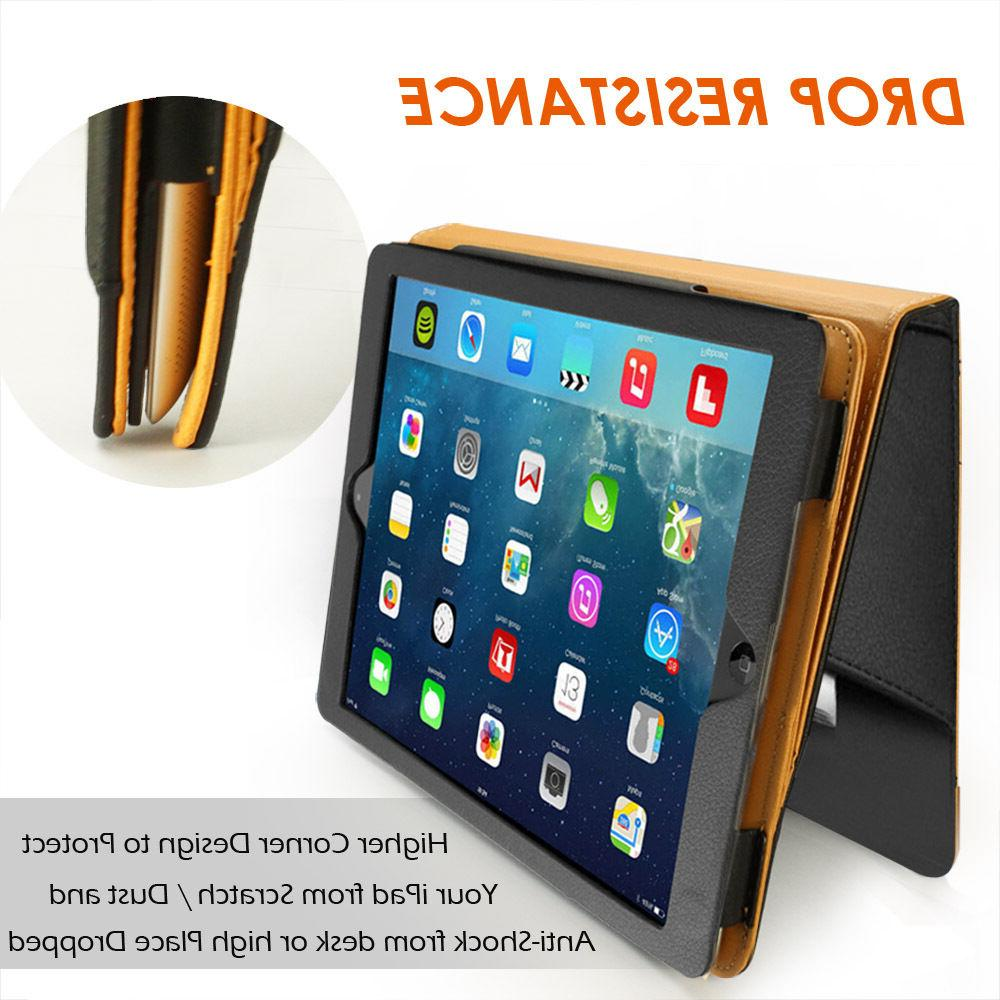 For 10.5 Slim Fold Leather Wallet Cover
