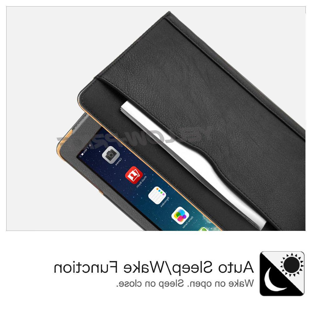 For iPad 10.5 Tablet Leather Wallet Case Cover
