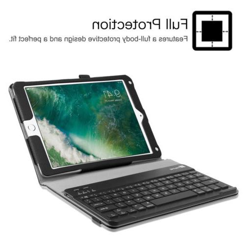 Fintie iPad Tablet Slim Leather Folio Stand Cover Case Keyboard