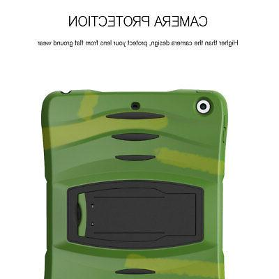 For Apple iPad Screen Protector + Shockproof Rugged Cover