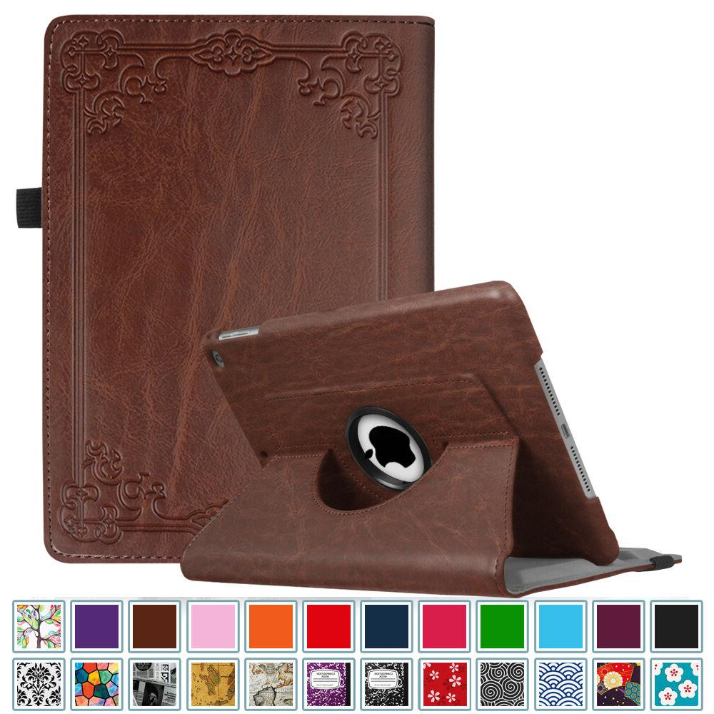 """Fintie For iPad 9.7"""" 2017 Rotating PU Leather Case Cover Sta"""
