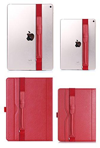 ProCase Pencil Sleeve Detachable Pouch Cover for Apple Fit for Pro 11 iPad iPad Pro -Red