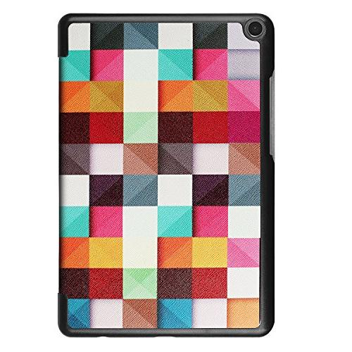ASUS UZER Colored Drawing Ultra PU Case Protective Folio Stand Back Cover ZenPad Tablet 2017