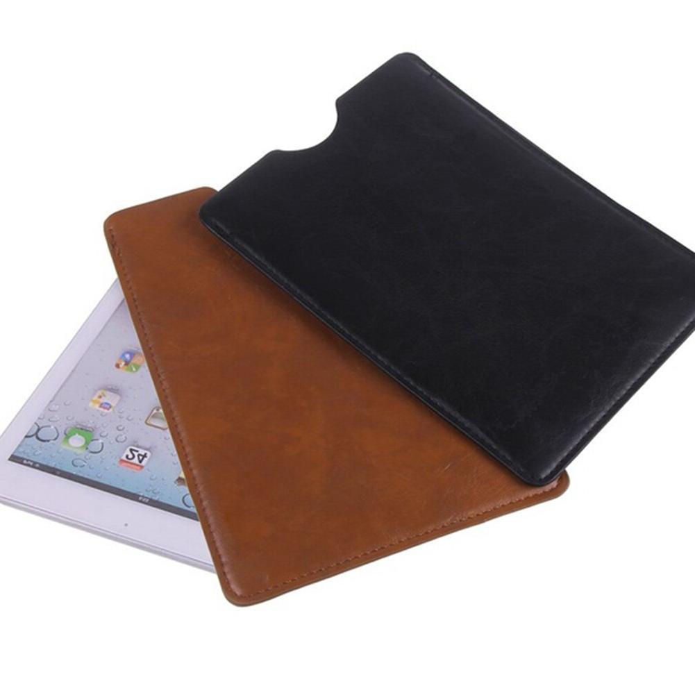 "Black/Brown Sleeve Bag <font><b>Case</b></font> Pouch 8"" 10""inch <font><b>ipad</b></font>"