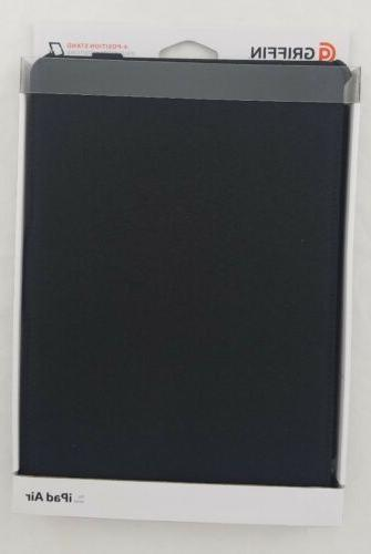 black multi positional protective journal