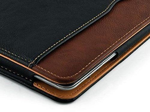 New Black Tan Apple 2 Feature Flip Case