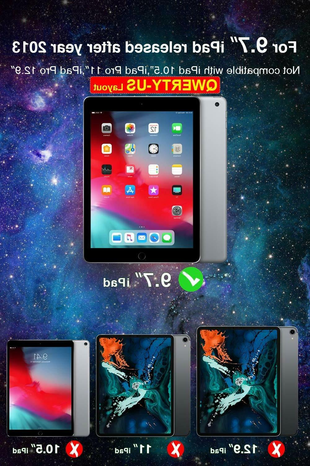 Inateck Case 9.7, with iPad 2017/2018