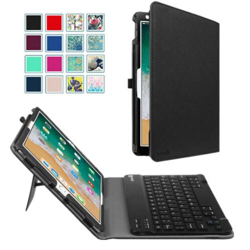 bluetooth keyboard leather case cover for ipad