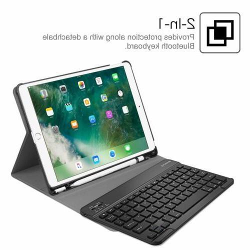 Bluetooth Keyboard Case Cover Air iPad 10.5