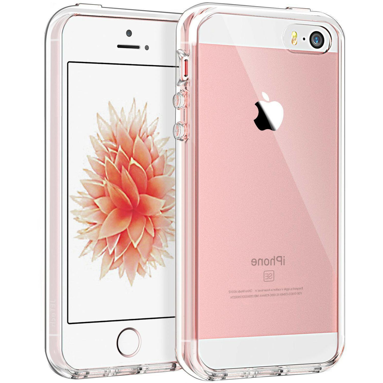 JETech Case for Apple iPhone SE 5S 5 Shock-Absorption Bumper