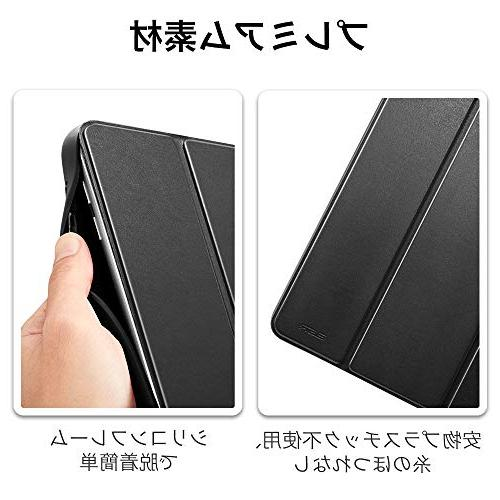 ESR for 9.7 2018 Built-in Apple Leather Protective for iPad Black