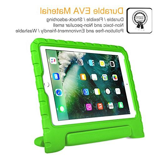 "Fintie for iPad 2018 / iPad 9.7"" / Air / iPad Kiddie Stand Cover - Green"