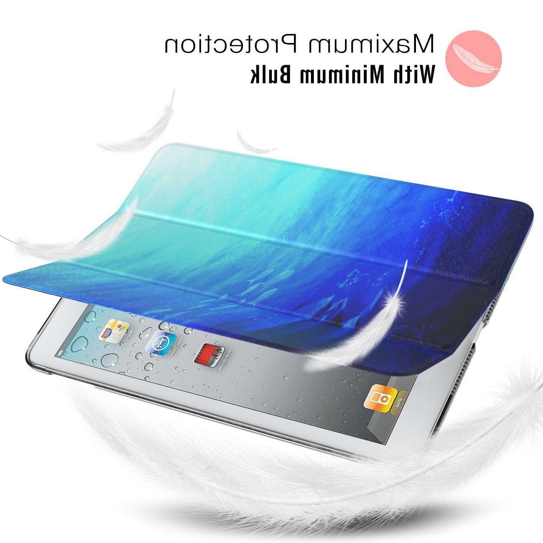 MoKo Case 2/3/4 Lightweight Slim Smart Cover-Ocean