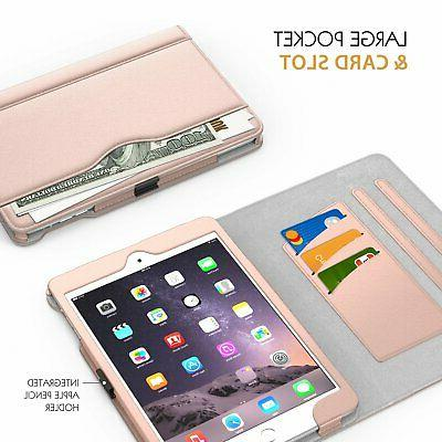 MoKo Mini 3/2/1, Slim Folding Stand Cover Apple