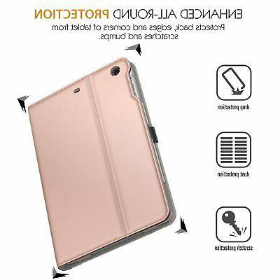 MoKo Case Fit Mini Folding Stand Folio Cover with Apple iPad