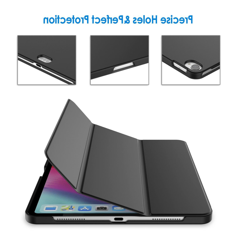 JETech Case iPad Pro 11-Inch 2018 Smart Cover Wake Black