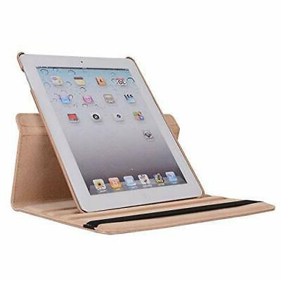 AiSMei iPad 4, Rotating Stand Cover 9.7-inch iPad