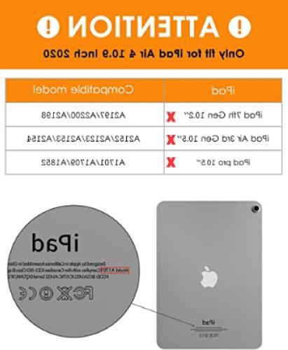 DTTO Case Air 4 2020, 10.9 Case, Double-Fold Wake/Sleep