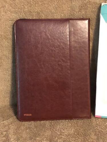 ESR Case iPad Pro PU Leather Folio w Red NIP