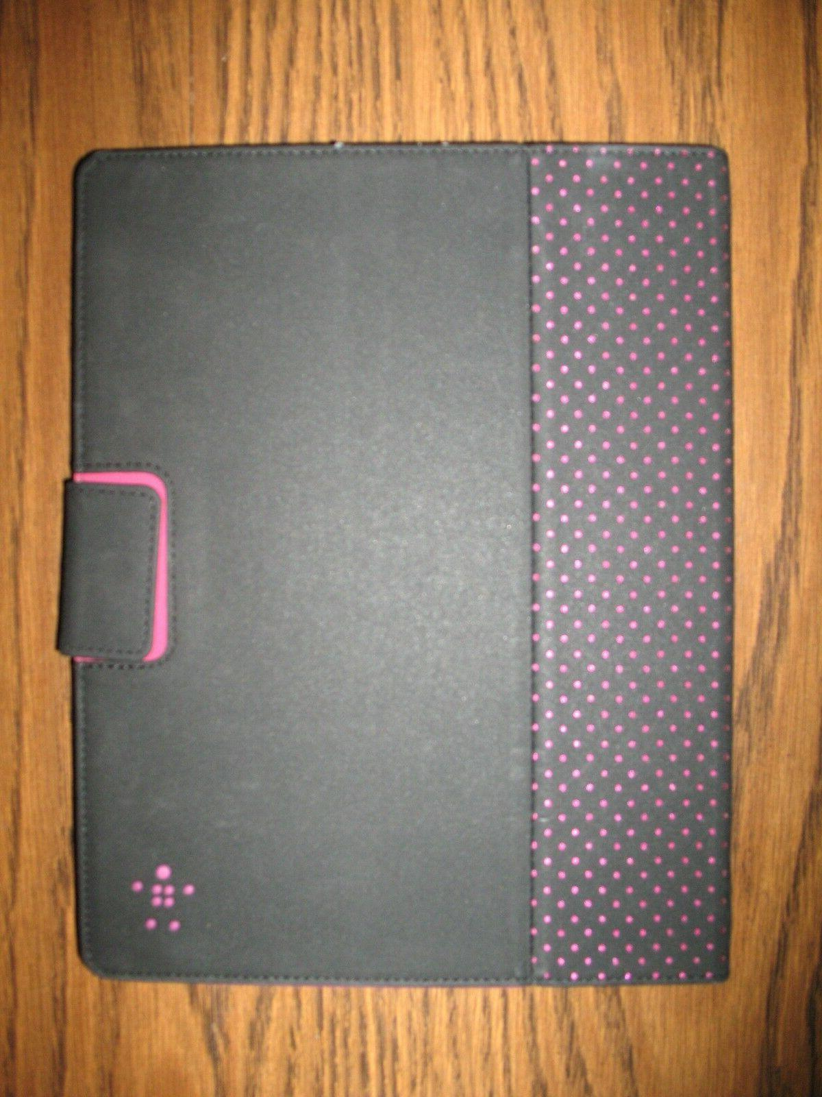 Belkin Cinema Dot Folio Case Cover with Stand for iPad  - Gr