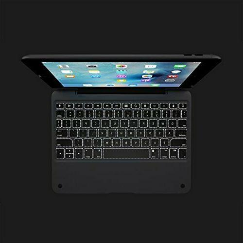 Incipio Clamcase+ Keyboard/Cover Case For Air 2 - Gray