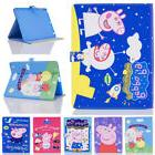Cute Peppa Pig Leather Magnetic Flip Cover Case For Apple iP
