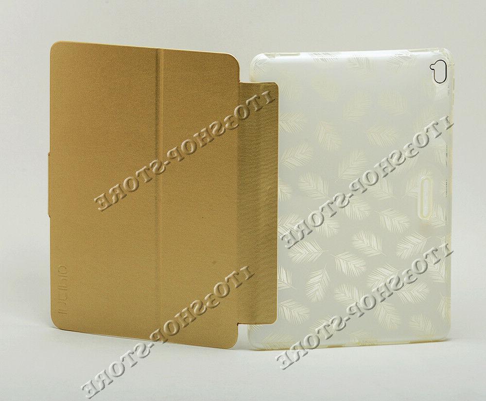 Incipio Design Folio Hard Case Stand iPad Pro Fancy Palm/White