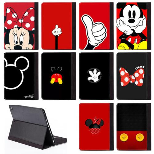 disney cartoon mickey mouse pu leather stand