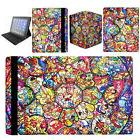 DISNEY STAINED GLASS PRINT CHARACTERS Apple iPad Pro 2 3 4 M