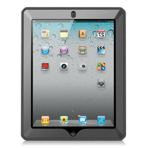 Fintie layer Case For iPad 2/3/4 W/Built-in Protector
